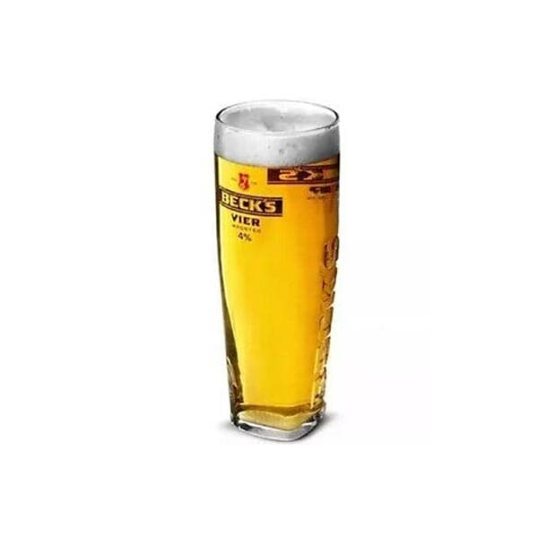 Becks Vier Square Pint Glass