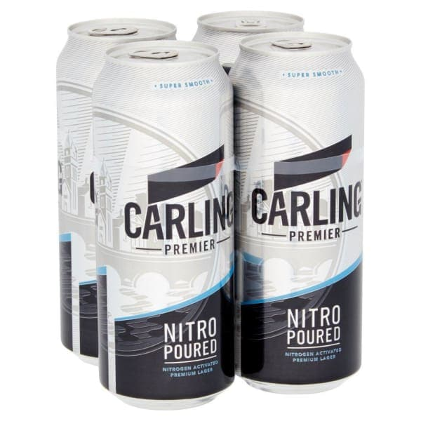 Carling Premier Lager Cans 24x440ml
