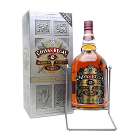 Chivas Regal 12 Year Scotch Whisky - 4.5Ltr Rehoboam with Cradle