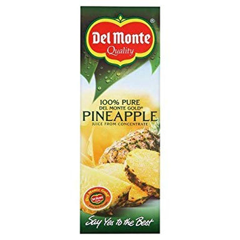Del Monte Gold Pineapple Juice 1L Carton