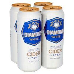 Diamond White Original Cider Cans 24x500ml