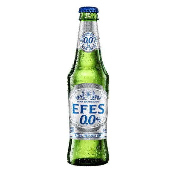 EFES Alcohol Free 0,0% Bottles 24x330ml - IMPORTED from Turkey