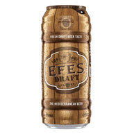 Efes Draft Beer Lager Cans 24x500ml - IMPORTED From Turkey