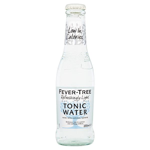 Fever Tree Refreshingly Light Indian Tonic Water 1x 200ml