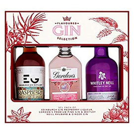 Flavoured Gin Selection Set of 3x5cl Gift Set