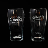 Guinness 250 Years Anniversary Pint Glasses - Limited Edition (Set of 2)