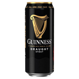 Guinness Draught Stout Beer Cans 24x440ml