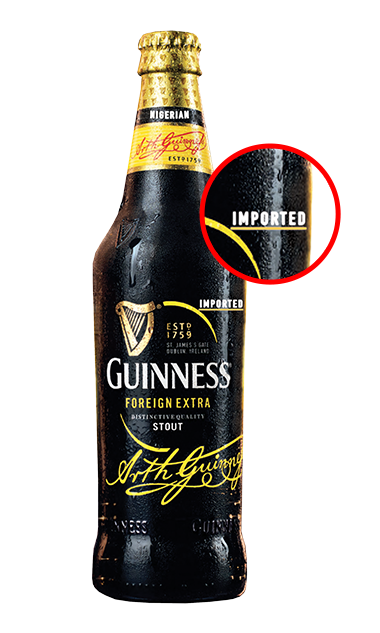 Guinness Nigerian Foreign Extra Imported Stout 24x325ml