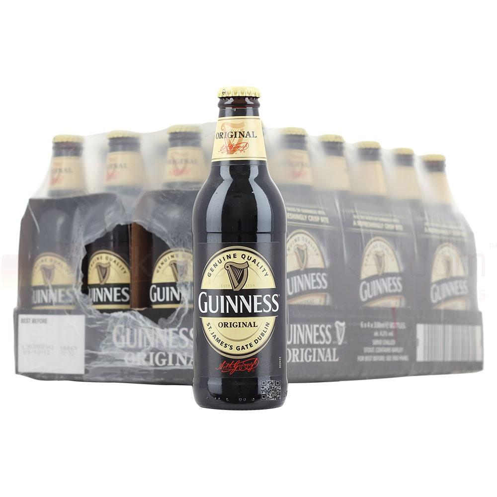 Guinness Original Extra Stout Bottles 24x330ml