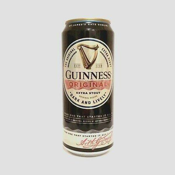 Guinness Original Stout Beer Cans 24x500ml