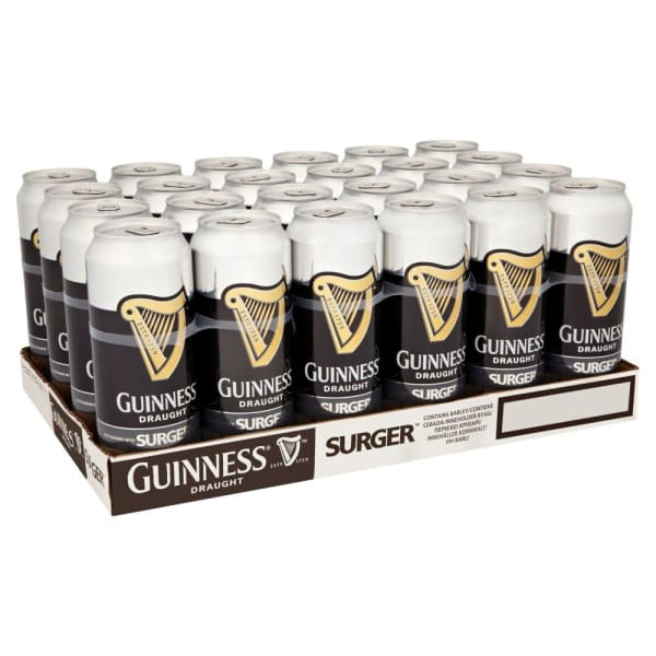 Guinness Surger Cans 24x520ml Cans