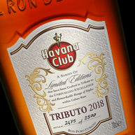Havana Club Tributo 2018 70cl - Limited Release