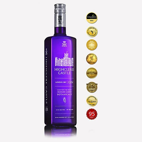 Highclere Castle Gin, 70 cl