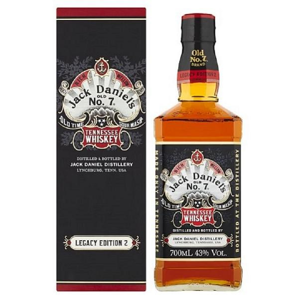 Jack Daniel's Old No 7 Whiskey Legacy Edition 2, 70cl