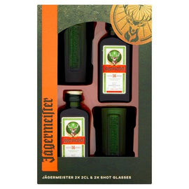 Jagermeister & 2 Shot Glasses Gift Set