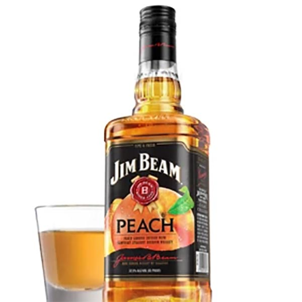 Jim Beam Peach Bourbon 70cl - NEW