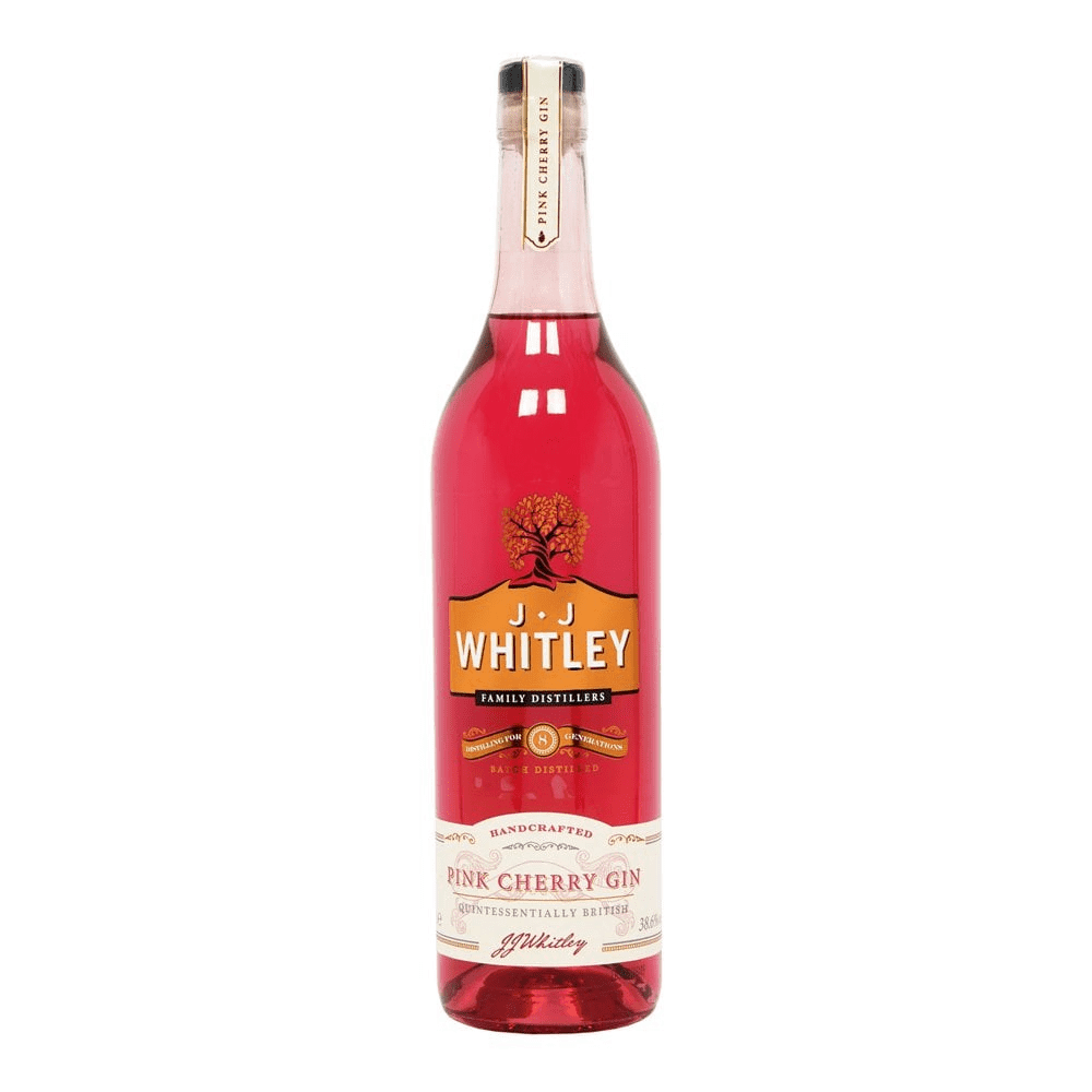 JJ Whitley Pink Cherry Gin  1 litre