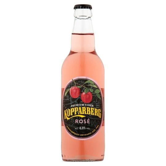 Kopparberg Premium Cider Rose Bottles 15x500ml