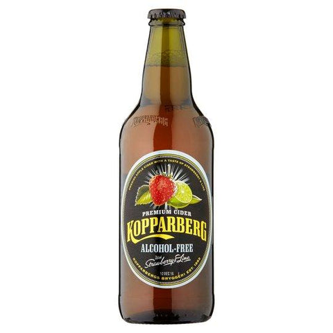 Kopparberg Strawberry & Lime Alcohol Free 8x500ml