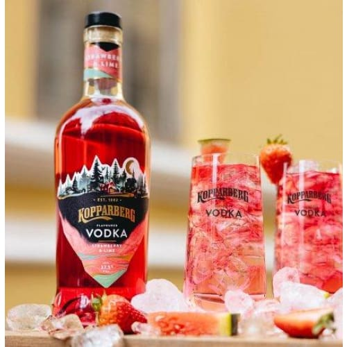Kopparberg Strawberry & Lime Flavour Vodka 70cl - vodka
