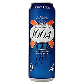 Kronenbourg 1664 Pint Cans 24x568ml