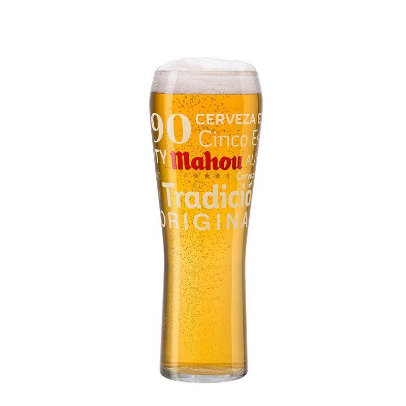 Mahou Toughned Pint Chalice Glass 1pt