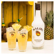 Malibu White Rum With Coconut 1 Litre Bottle