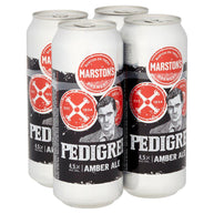 Marston's Pedigree Amber Ale Cans 24x500ml