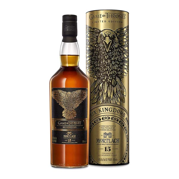 Mortlach 15 Year Old Whisky Game of Thrones Limited Edition 70cl