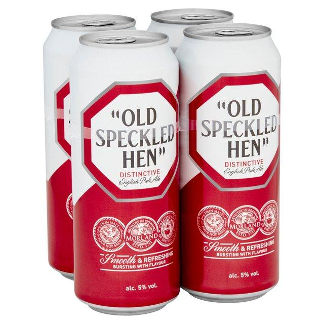 Old Speckled Hen Beer Cans 24x500ml