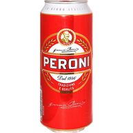 Peroni Red Lager Beer 24 x 500ml Cans