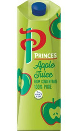 Princes 100% Pure Apple Juice 6 x1l