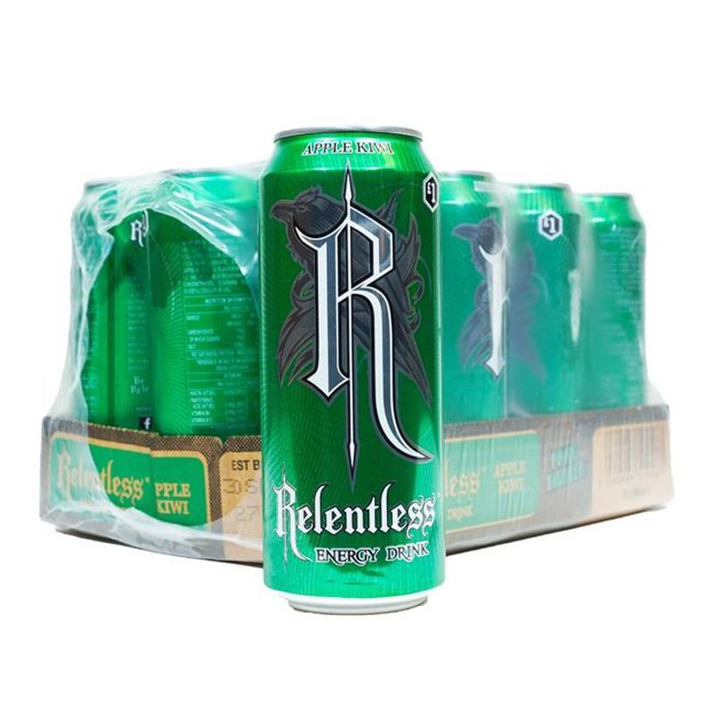 Relentless Apple & Kiwi 12x500ml
