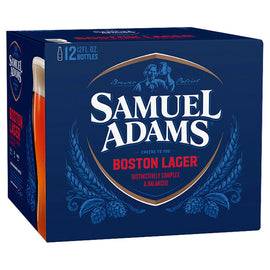 Samuel Adams Boston Lager 12x330ml Bottles