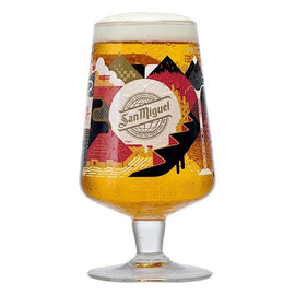San Miguel 2020 Limited Edition Chalice Pint Glass - Sierra - Celebrating 130 Years -
