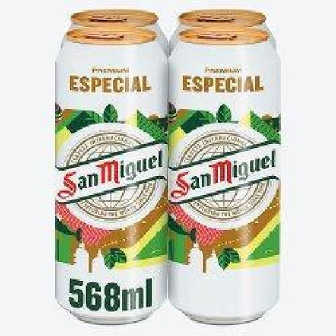 San Miguel Pint Size Cans 24x568ml