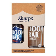 Sharp's Brewery Doom Bar with Pint Glass