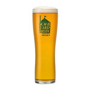 Shed Head Pint Glass