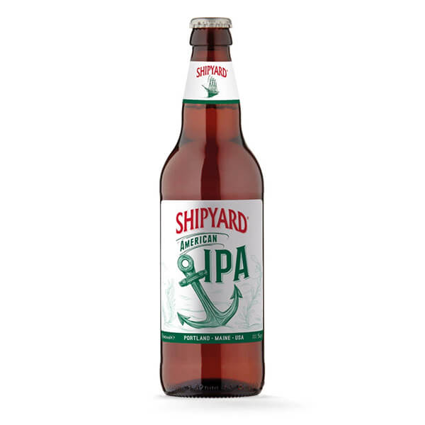 Shipyard American IPA 8 x 500ml Bottle
