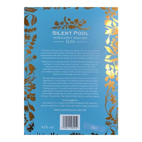 Silent Pool 50cl Gin & Copa Gift Set