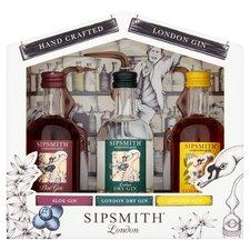 Sipsmith Distillery 3x5cl Gift Set