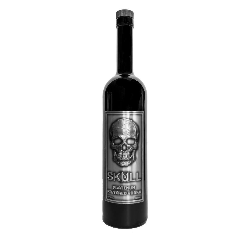 Skull X Platinum Filtered Vodka 70cl