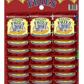 Smiths Carded Snacks - Bacon Fries 24x27g