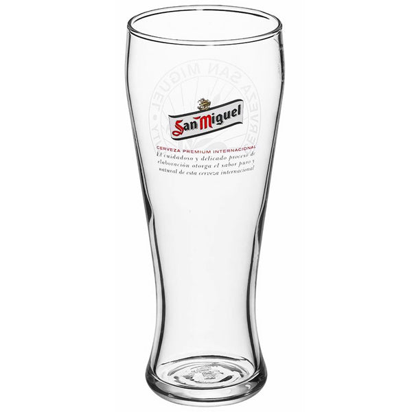 San Miguel Pint Glass