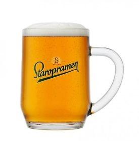 Staropramen - Beer Tankard - 20oz Pint (57cl) CE
