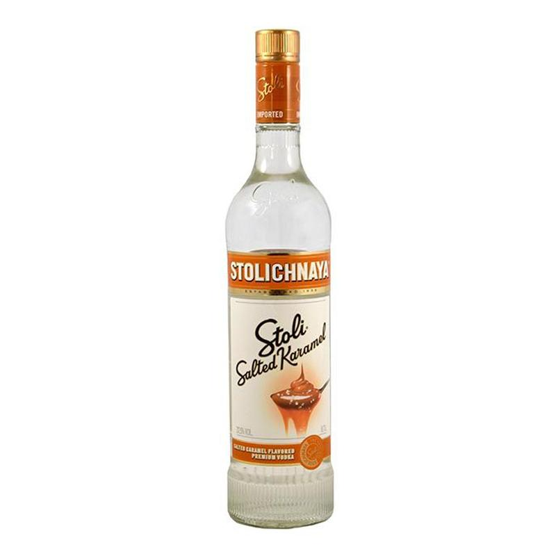 Stolichnaya Salted Caramel Vodka 70cl