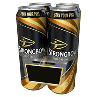 Strongbow Original Cider Pint Cans 24x568ml,