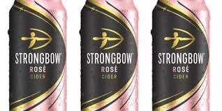 Strongbow Rosé Cider Cans 24x440ml