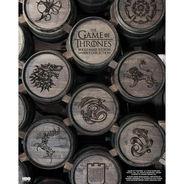 Talisker Select Reserve Game of Thrones House Greyjoy Limited Edition 70cl