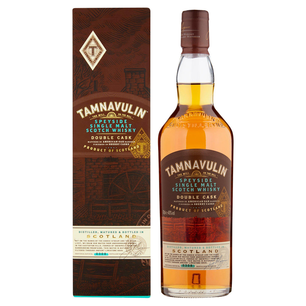 Tamnavulin Speyside Single Malt - Double Cask Scotch Whisky